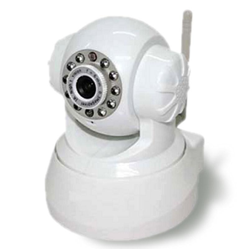 天翼看家看店室内云台球型摄像机kecam-21d